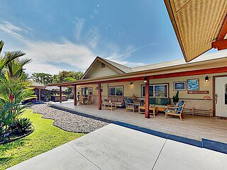Luxury Lanai Lifestyle | Tropical Downtown Suites, Private Hot Tub & Gazebo