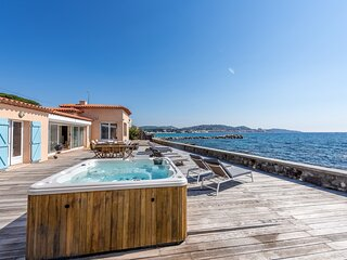33494 airconditioned villa at the sea for 9 people, fully renovated in 2020