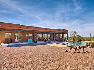 NEW! Superstition SW Retreat w/ Pool & Mtn Views!