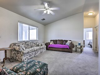 NEW! Sunny Pahrump Hideaway w/ Patio + Fire Pit!