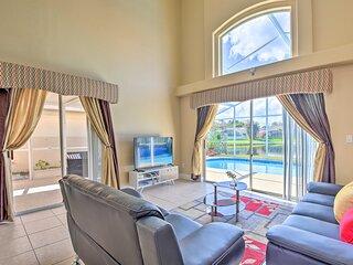 NEW! Orlando Home w/ Lake View, Pool & Game Room!