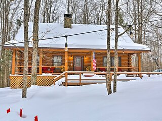 NEW! Lake Ariel Mtn Cabin w/ Pool & Beach Access!