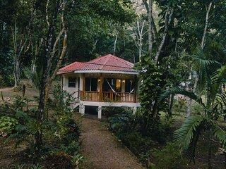 3 Jungle cabanas w/ AC,Wifi, outdoor grill & car rental