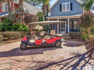 Gorgeous Bungalo with GOLF-CART!