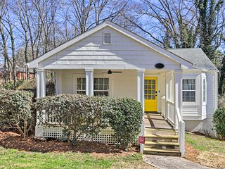 NEW! Charming College Park Cottage - 8 Mi to ATL!