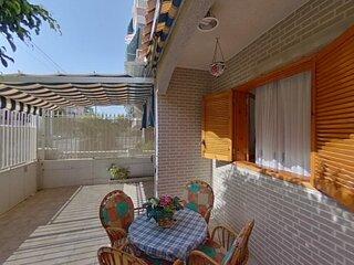 Bungalow con terraza de 50 m2 cerca de la playa en Santa Pola-Alicante-España