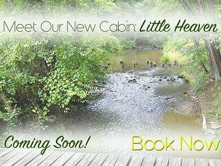 Little Heaven is that little, 4/3 on a Fishing Creek, Hot Tub like Heaven