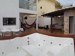 Casa c jacuzzi e wifi a 200 m da praia em Salvador