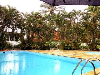 Guaecá: casa c/ wi-fi e lazer a 60 metros da praia