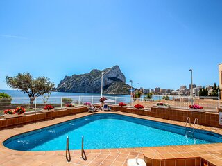Angel - sea view apartment in Calpe