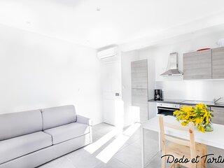 Bright 2 bedroom with AC - Dodo et Tartine