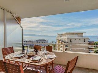 Cappella - Bel appartement climatise vue sur la mer