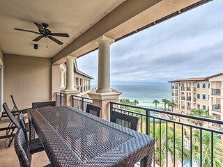 NEW! Gulf Front Hub: Luxe Santa Rosa Beach Condo!