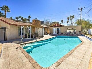 Elegant Home w/ Pool Table: 3 Miles to The Strip!