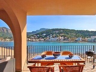 Es Faro House,frontline property with breathtaking sea views in Port Soller