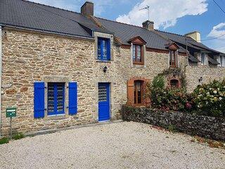 Maison 4 pièces 6 personnes, proche du Golfe du Morbihan.