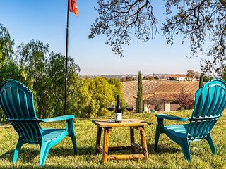 Endless Vineyard Views From Your Front Porch at Walnut Hill