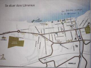 STUDIO AVEC TERRASSE VUE MER  + PARKING à Wimereux ( près de Boulogne/mer)