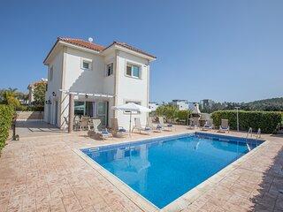 Nefeli 3 bed villa in Protaras center with private pool
