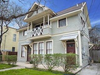 Cozy Downtown 2BA/1BA Historic House - Casa Verde