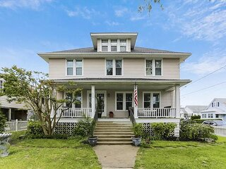 Iconic Downtown Home | Fenced Yard & Central AC | Walk 3 Minutes to Beach