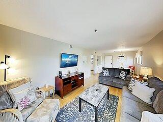 Top-Floor Corner Villa with Pools, Tennis & Gym at Hilton Head Resort