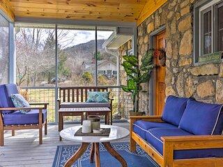 NEW! 'The Rock Cottage' - Quiet Escape w/ Porch!