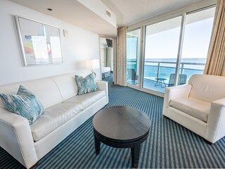 ⭐Direct Ocean & City Views, Corner Suite, Glass!
