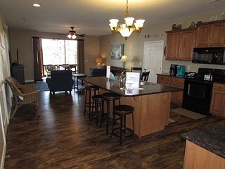 3 BR, 3 Bath, with Dock Access.  Lower level with walkout to the lake.