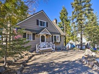 NEW! Charming Cabin, 2Mi to Lake Arrowhead Village
