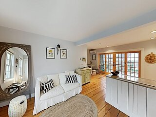 Charming East End Condo with Parking, Patio & Walkable Locale - Near Beaches