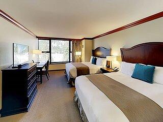 Resort at Squaw Creek Studio   Ski-In, Ski-Out   Pools, Hot Tub, Luxe Spa