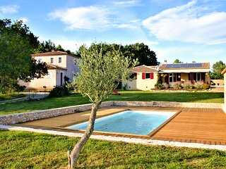 Stunning home in Saint Victor des Oules with Outdoor swimming pool, Heated swimm