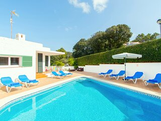 Villa Atalaia with private pool, free wifi, 5 minutes walk  Cala Galdana beach