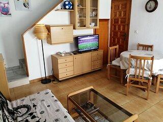 Alquiler un bungalow de 54 m2 cerca de la playa en Santa Pola-España