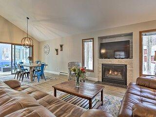 NEW! Spacious Lake Ariel Resort Home w/ Game Room!