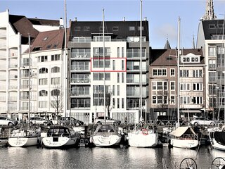 Appartement Zeilboot in de Jachthaven van Oostende