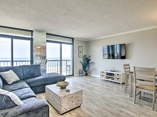 NEW! Beachfront Ocean City Condo w/ 2 Balconies!