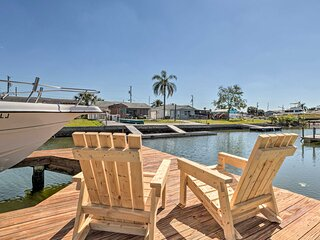 NEW! Canalfront Home w/ 4 Kayaks - 1 Mi to Beach!