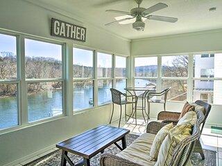 Lakefront Home w/ Hot Tub, Dock & Resort Amenities