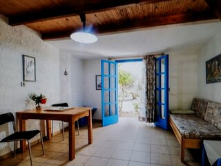 Exclusive Cottages are in S West Crete in a quiet olive grove near the sea