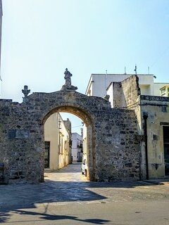 Porta centro storico