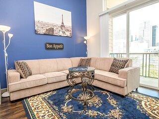 Bright Parisian Penthouse Suite in Houston