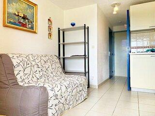 Charmant appartement T2  ideal pour 4 personnes vue mer - Cap d'Agde