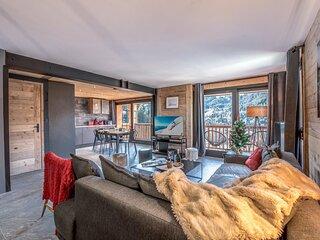 Bel et charmant appartement moderne, rénové, 6-8 pers, à deux pas du centre