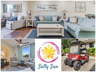 Salty Sun - Get Away for Fun in SandestinR! Golf Cart Included!
