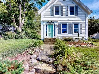 Exceptional Vacation Home Walking Distance to Boothbay Harbor