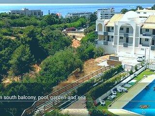 Central Albufeira Mario ..Albufeira Mar /pool, beach 400 m, sea view