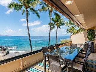 Rare! One of a Kind 4 Bedroom / 5 Bath Beach Front Paradise at Makena Surf