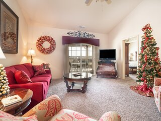 2 King BR, 2BA Golf Condo - Private Balcony with View